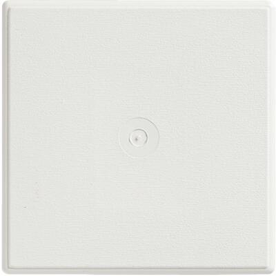 "Ply Gem 6-3/4"" x 6-3/4"" White Vinyl Mounting Blocks"